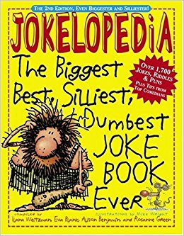 Joke books: guaranteed to make your kids smile