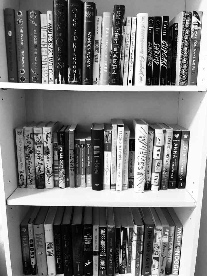 Kristina Forest bookshelf