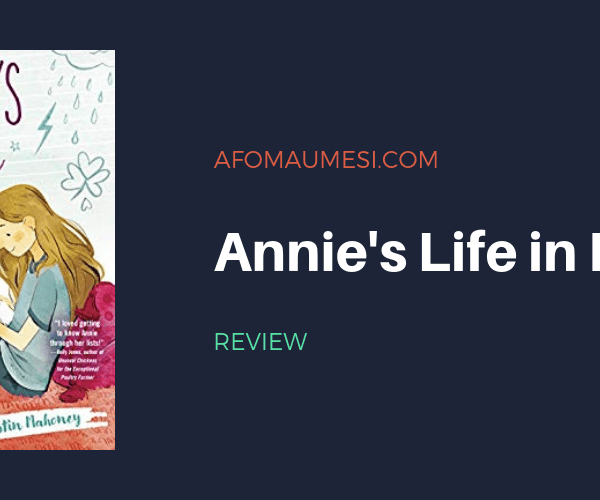 REVIEW| ANNIE'S LIFE IN LISTS