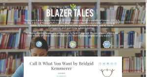 blazer tales kid lit blog homepage screenshot