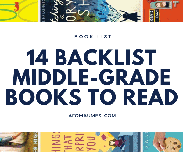 backlist middle grade books graphic