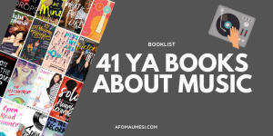 ya books about music banner