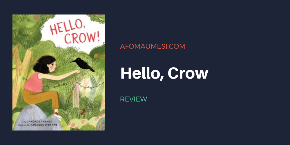 hello crow picture book review
