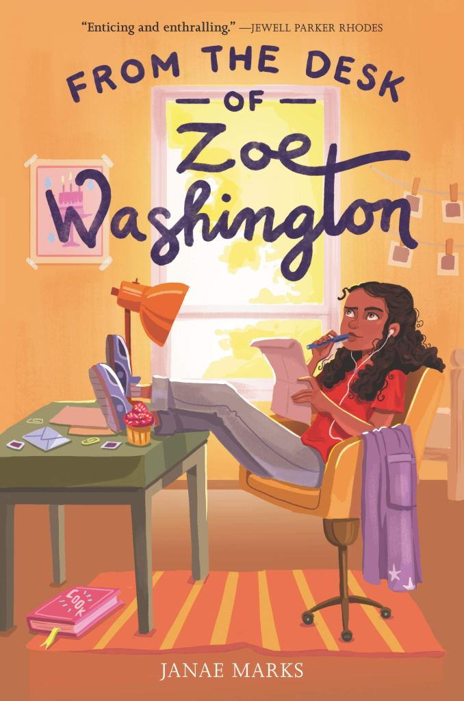 from the desk of zoe washington - janae marks interview