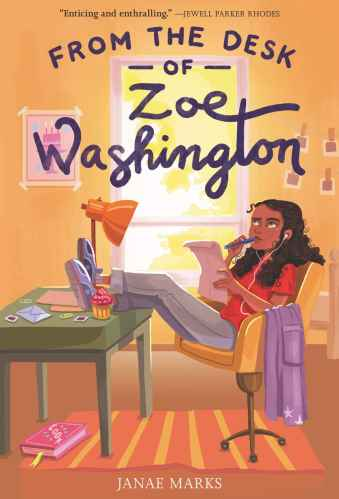 from the desk of zoe washington - black middle-grade books for tweens