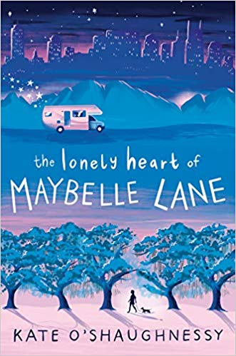 the lonely heart of maybelle lane - kate o'shaughnessy middle-grade books about performance anxiety