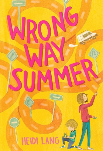 wrong way summer - middle-grade books set in the summer