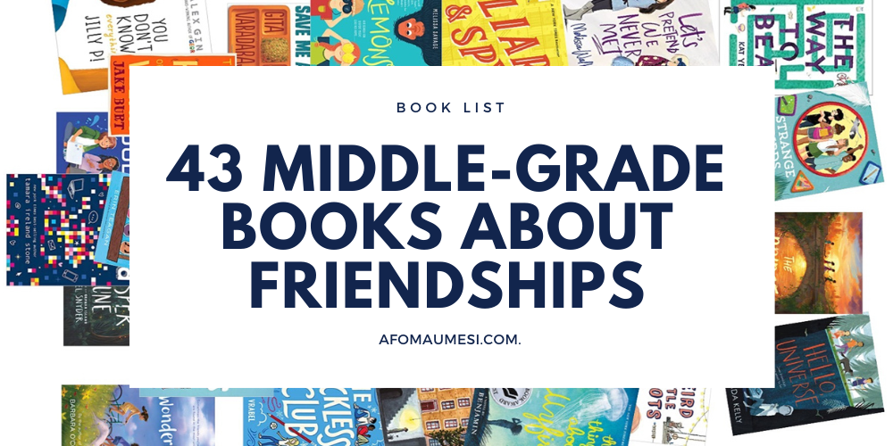 best middle-grade books about friendships