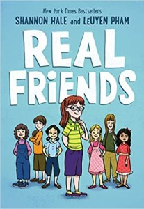 best middle-grade books about friendships - real friends