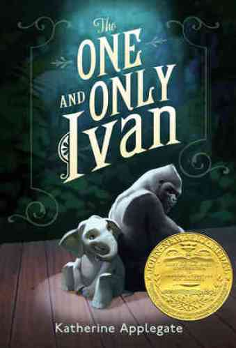 The One and Only Ivan - best readaloud books for 3rd graders