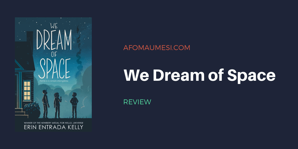 we dream of space book review