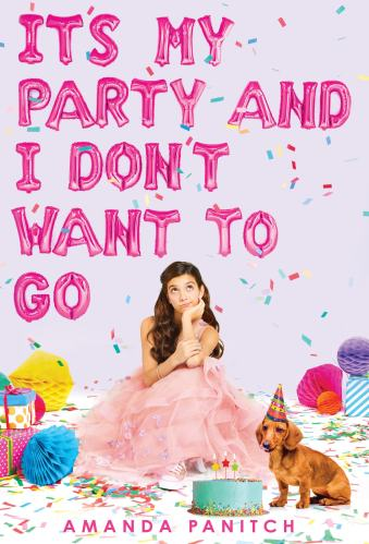 middle-grade books about social anxiety - it's my party and i don't want to go