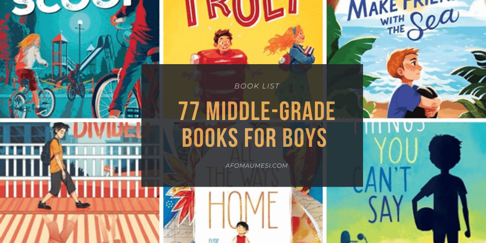 best middle-grade books with a male protagonist