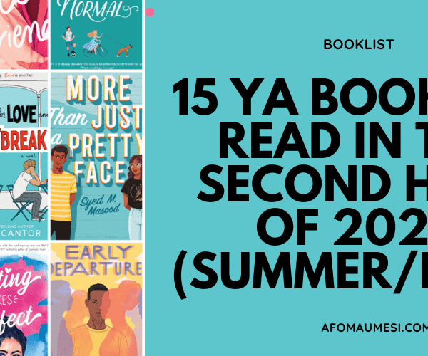 15 Young Adult Books to Read in the Second Half of 2020
