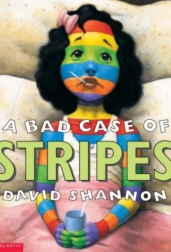 A Bad Case of Stripes - Best Chapter Books for Third Graders