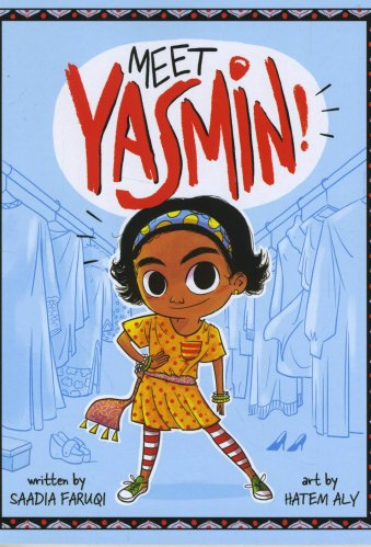 Best Middle-Grade Muslim Books - Meet Yasmin!