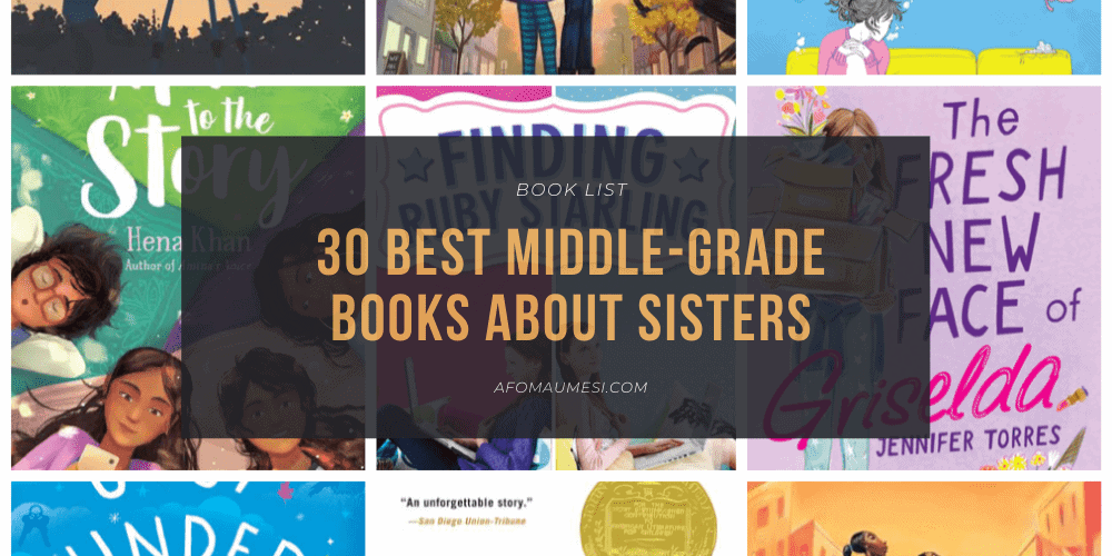 best middle-grade books about sisters