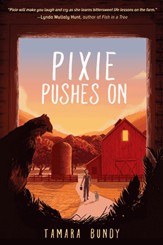 pixie pushes on - best middle-grade book about sisters