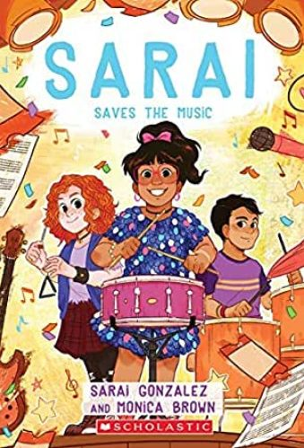 best middle-grade books about music and musical theater - sarai saves the music