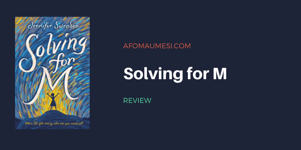 solving for m - book review