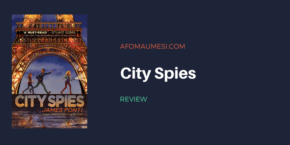city spies book review