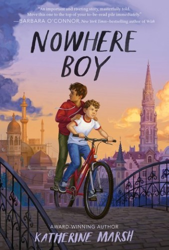 Nowhere Boy (Belgium) - Best Middle Grade Books Set in Europe