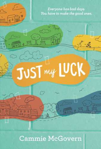 just my luck -  middle-grade books with neurodivergent characters