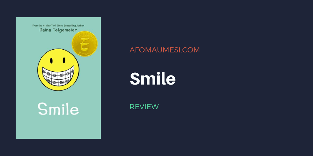 smile - raina telgemeier book review