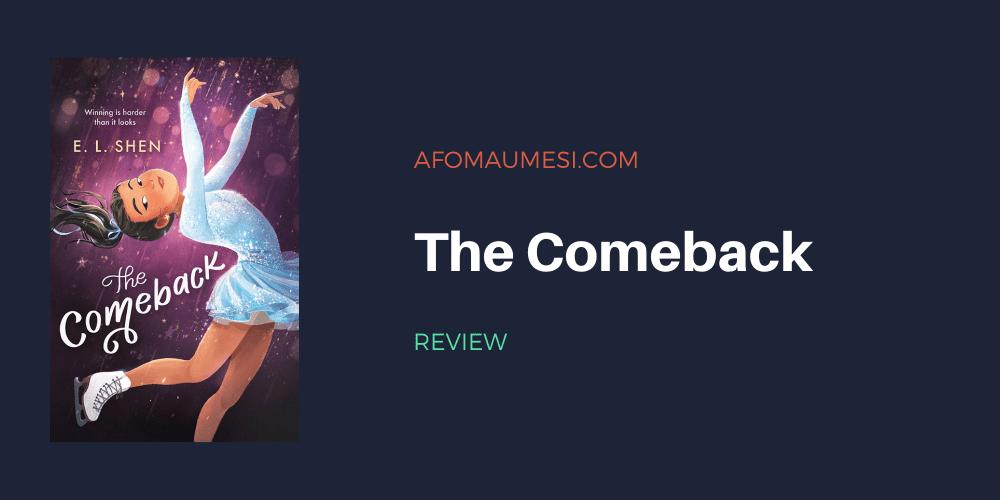 the comeback book review