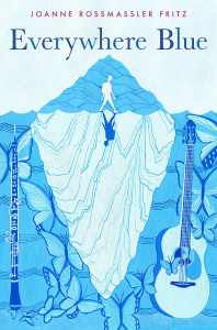 everywhere blue - middle grade book giveaway