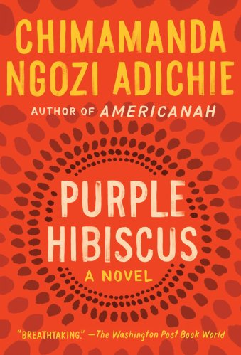 purple hibiscus - black ya