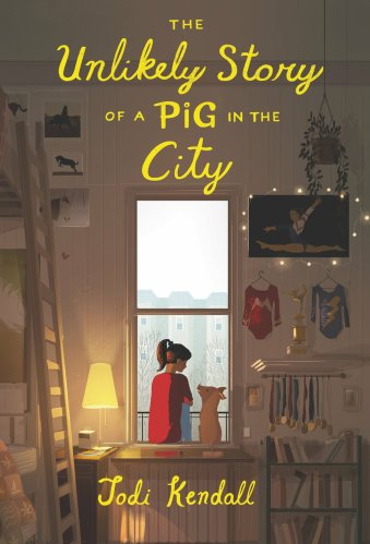 The Unlikely Story of a Pig in the City - best middle-grade books about families