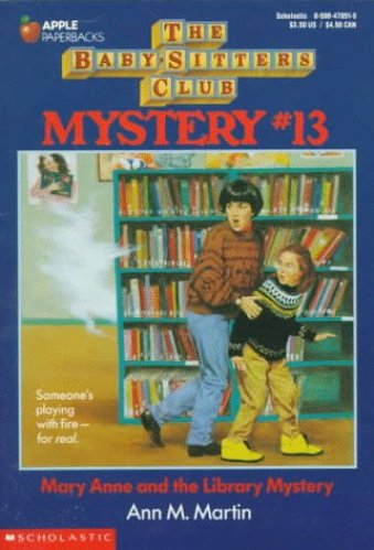 Mary Anne and the Library Mystery - Best Middle Grade Books About Libraries