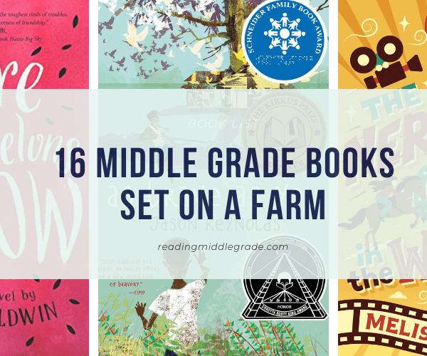 Best Middle Grade Books Set on a Farm