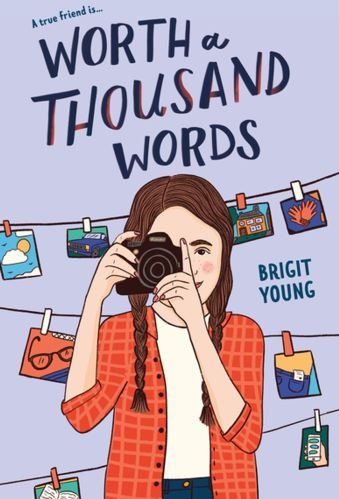 worth a thousand words - Best Middle Grade Books About Art, Crafting and Photography