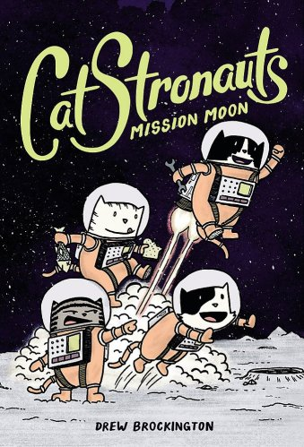 Catstronaunts - Best Graphic Novels for Elementary Students (K-6)