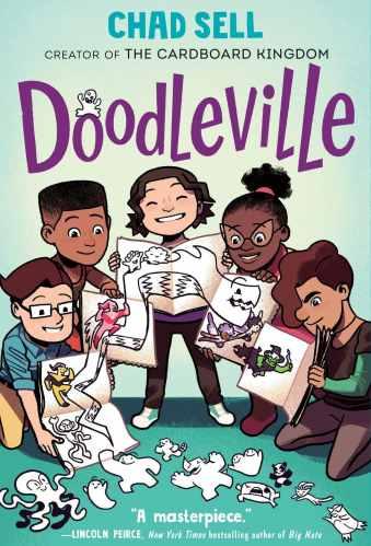 Doodleville - Best Middle Grade Graphic Novel Series