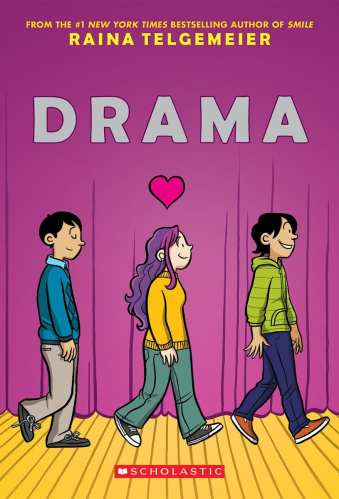 Drama - Best Middle-Grade Graphic Novels
