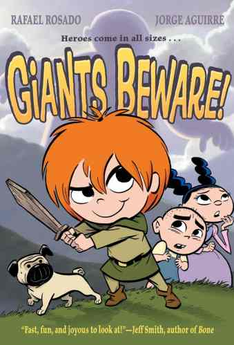 Giants Beware - graphic novels for elementary