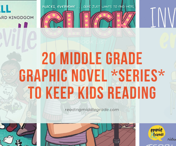 Best Middle Grade Graphic Novel Series