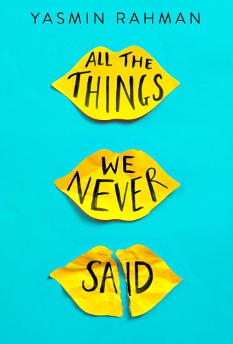 All the Things We Never Said - YA Books About Mental Illness