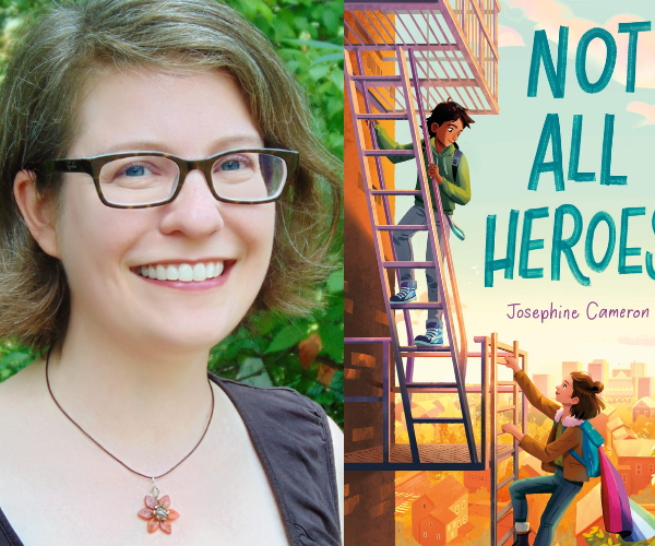 Josephine Cameron on Not All Heroes (+ Giveaway!)