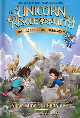 The Unicorn Rescue Society: The Secret of the Himalayas - middle grade books set in Asia