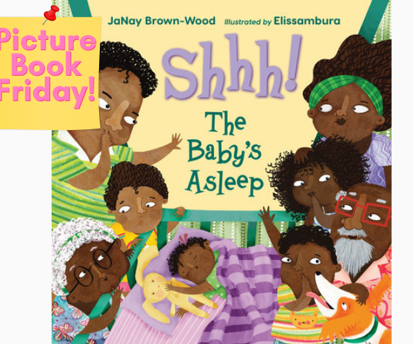 Picture Book Review: Shh! The Baby's Asleep