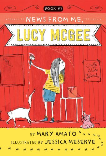 News from Me, Lucy McGee - Best Chapter Books for Third Graders