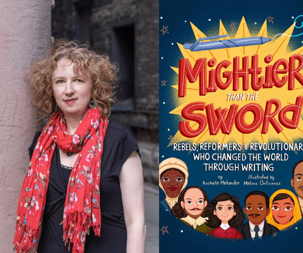 Rochelle Melander on Mightier Than The Sword (+ Giveaway!)