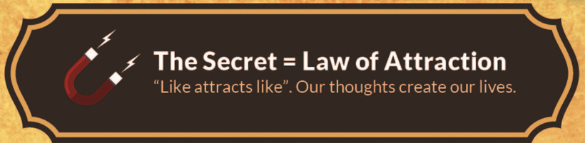The Secret Book Summary_law of attraction