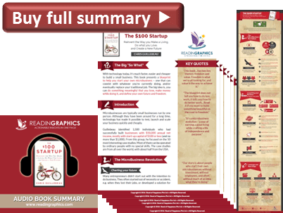 Best Startup book_The $100 Startup summary