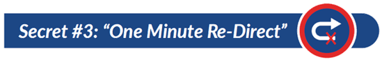 The New One Minute Manager Book Summary_Title_One Minute Redirect