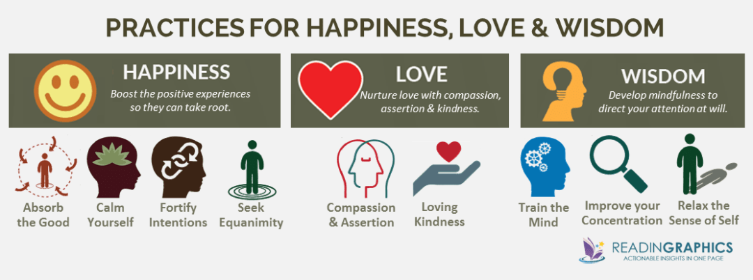 Buddha's Brain summary_happiness-love-wisdom
